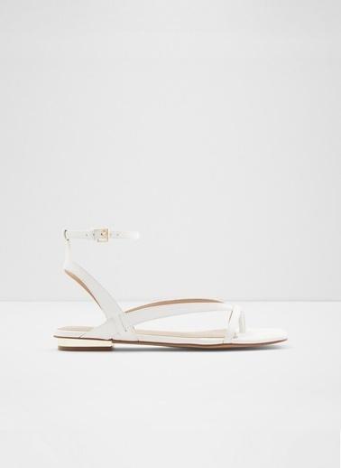 Aldo Rhigoni - Beyaz Kadin Sandalet Beyaz